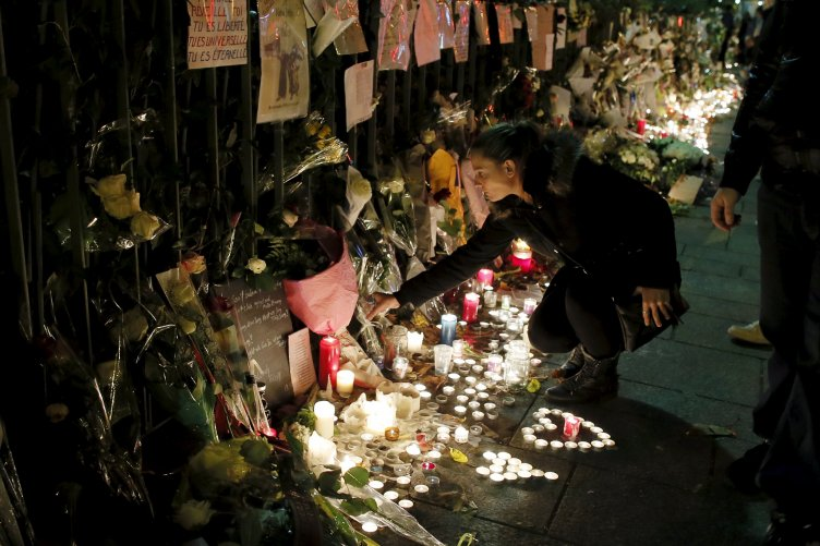 The Paris attacks and a disturbance in a cupola